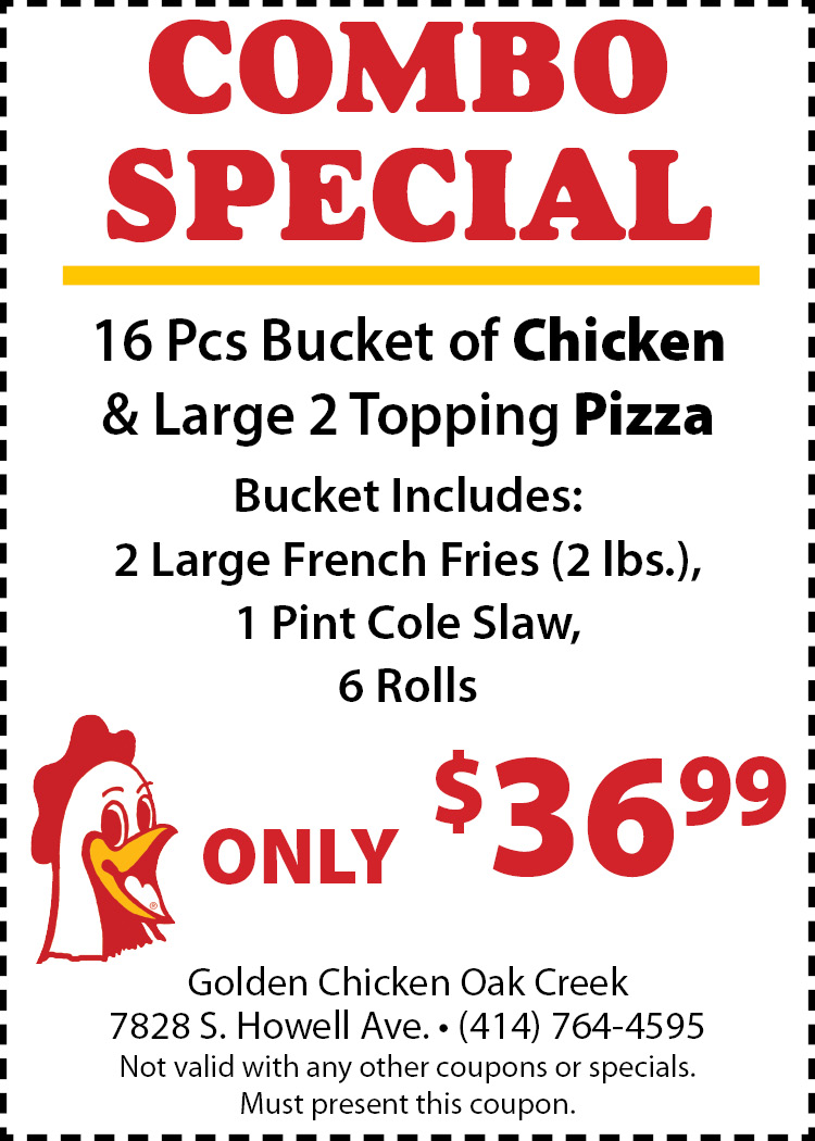 Golden chick coupons